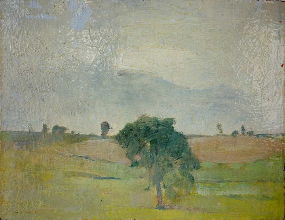 Emil Carlsen Landscape with Tree, c.1912