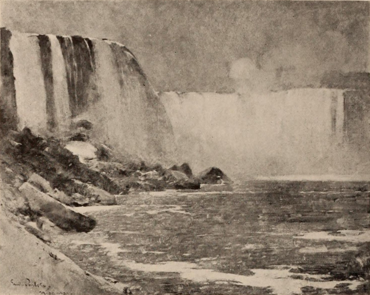 Emil Carlsen Niagara Falls (from Terrapin Point), c.1912