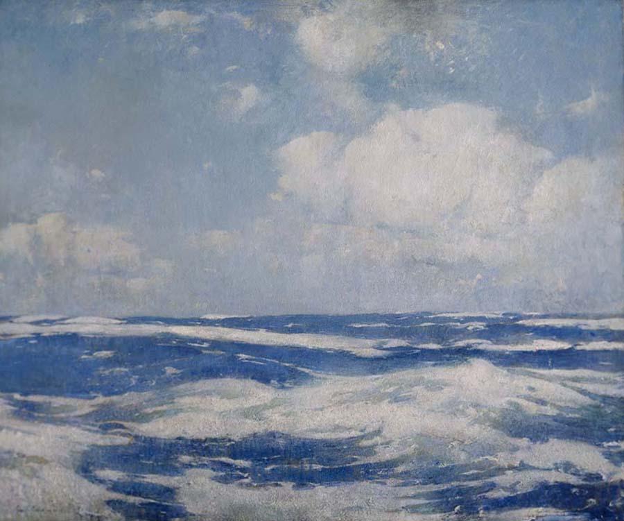 Emil Carlsen Open Sea, 1911