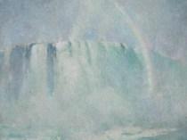 Emil Carlsen : Mist and rainbow, ca.1912.