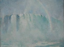 Emil Carlsen : Mist and rainbow, ca.1912.