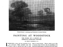 """Arts and Decoration, New York, NY, """"Exhibitions at the Galleries"""", May, 1912, Volume 2, Number 7, page 267, not illustrated"""
