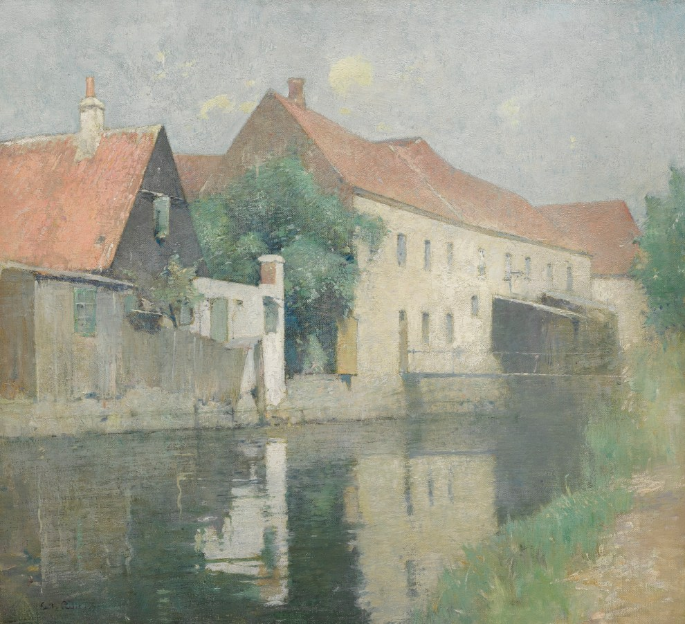 Emil Carlsen : The old mill, 1905.