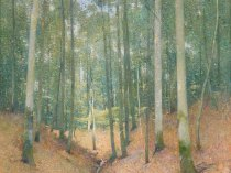 Emil Carlsen In The Woods, ca.1913