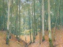 Emil Carlsen In The Woods, ca.1913