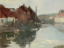 Emil Carlsen The Canal (also called The Old Town), ca.1907