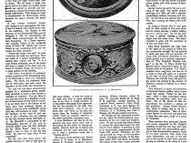 "1915 New York Times, New York, NY, ""Boxes that are worth their weight in gold : Salmagundi Club's famous members have painted them and each is a work of art. Designed in Louis XVI style"", February 21, 1915, page SM18."