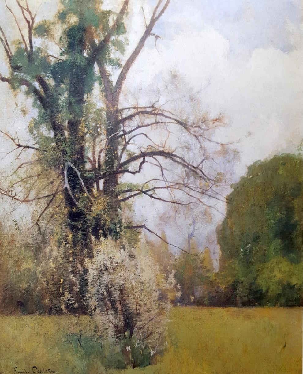 Emil Carlsen Connecticut Landscape, ca.1912
