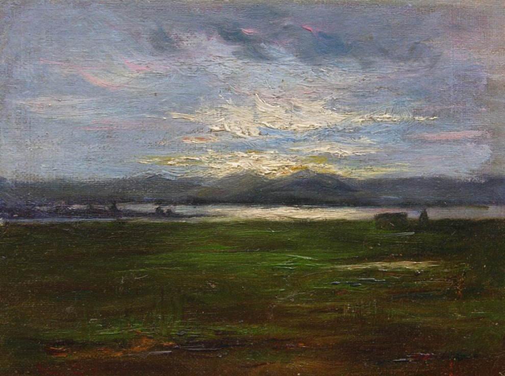 Sunset on The Coast (also called Sunset), c.1918