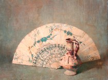 Emil Carlsen Still Life with Fan c.1919