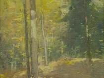 Emil Carlsen Autumn Wood Interior, Ogunquit, Maine, 1920