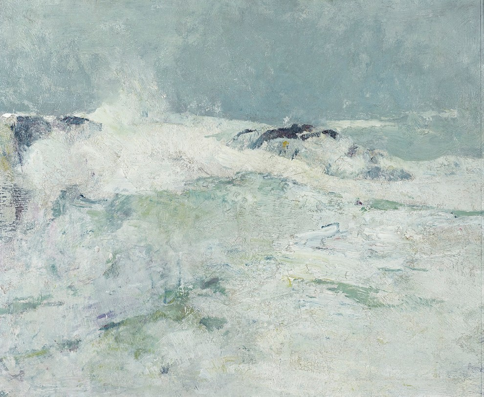 Emil Carlsen : Flying surf, ca.1923.