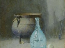 Emil Carlsen : The blue vase, ca.1923.