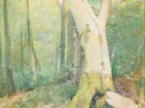 Emil Carlsen Woodland Interior, ca.1926