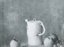 Emil Carlsen : Pitcher and quinces, ca.1927.