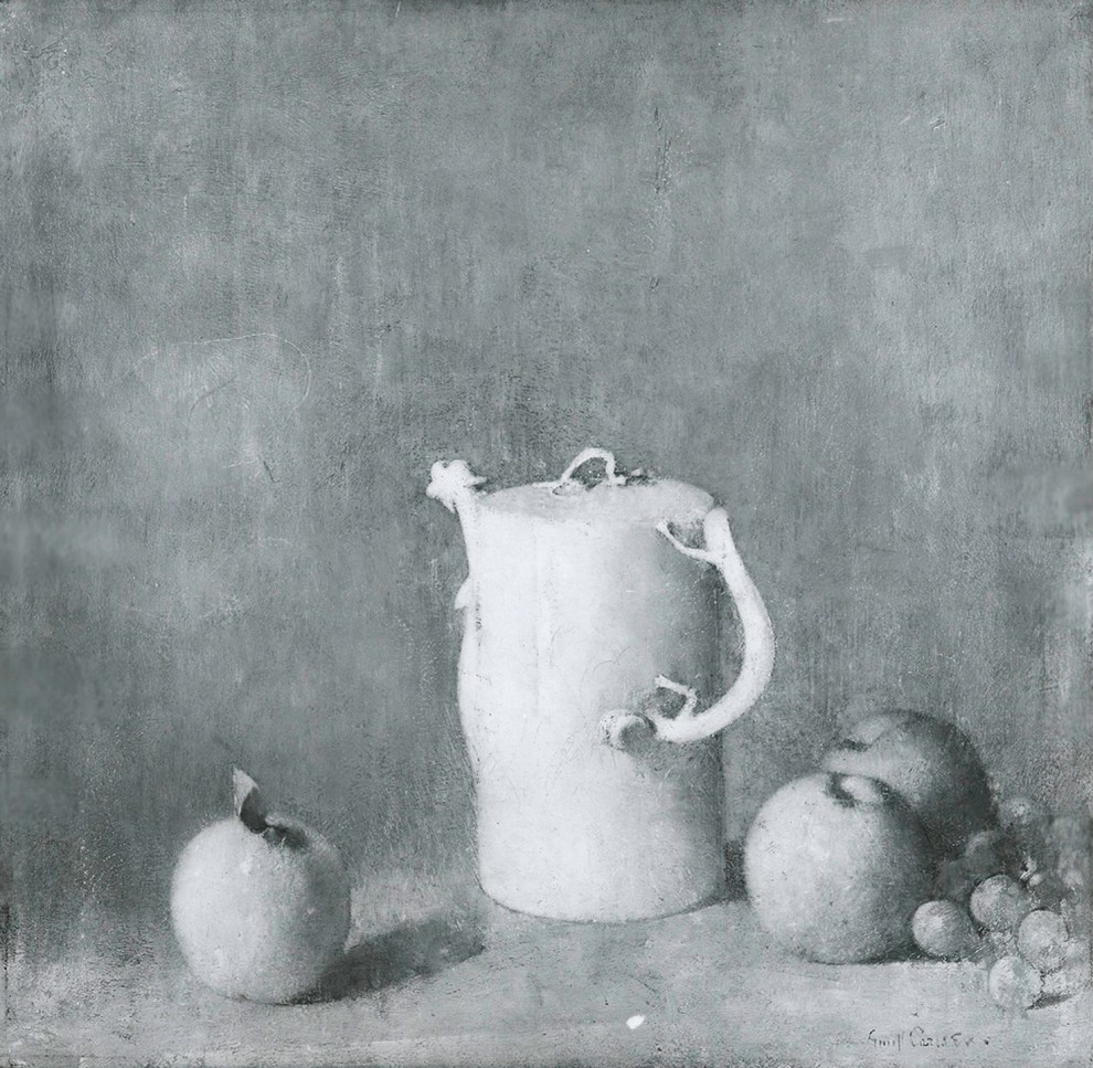Emil Carlsen Pitcher and Quinces, c.1927