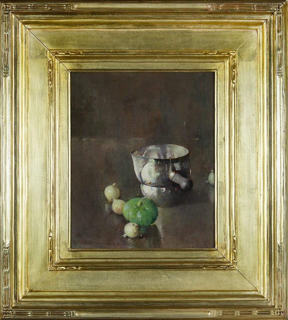 Emil Carlsen Still Life, 1927 - Original Frame