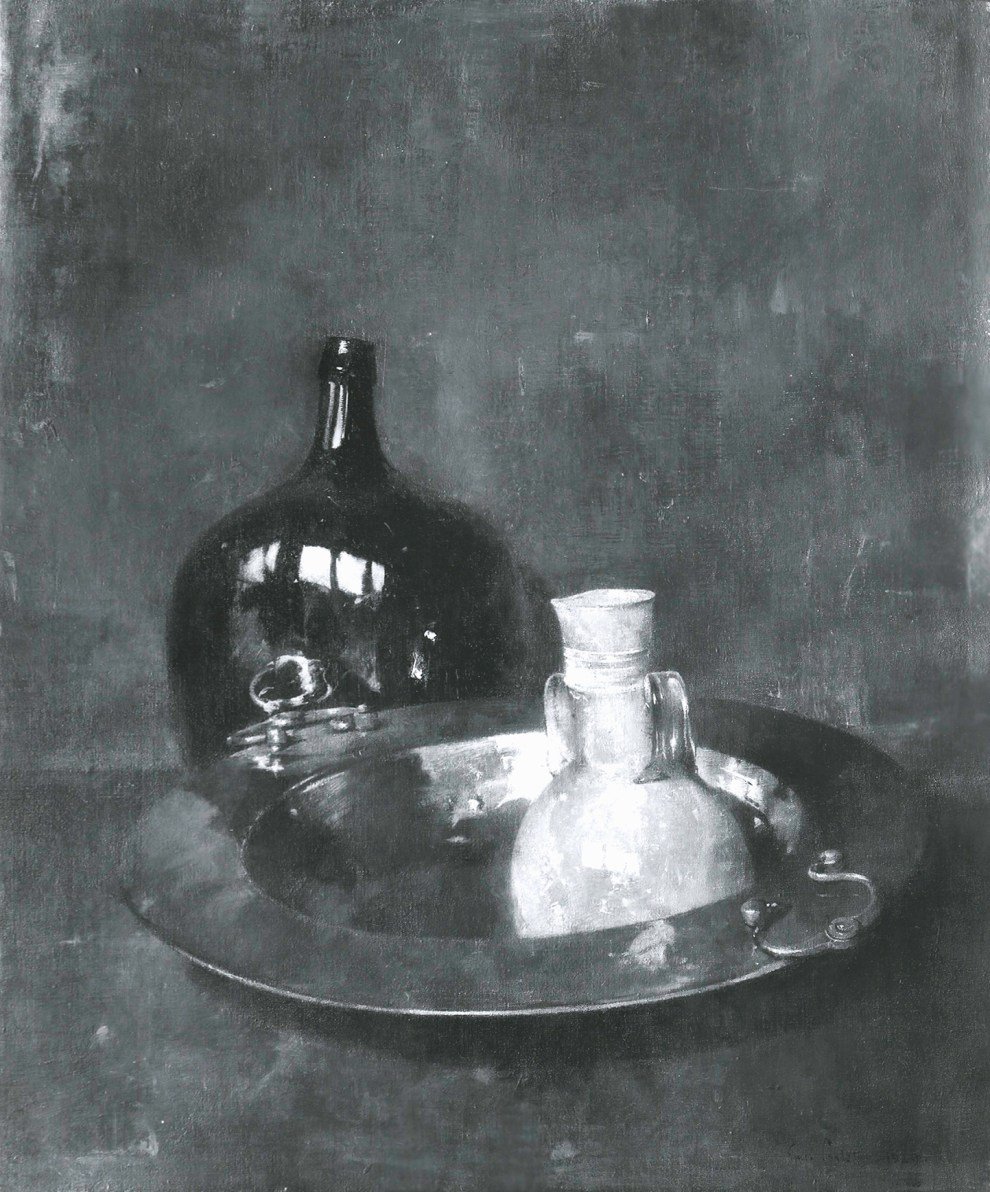 Emil Carlsen Still Life (also called Brass and Glass), 1929