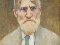 Emil Carlsen : Self-portrait, ca.1930.