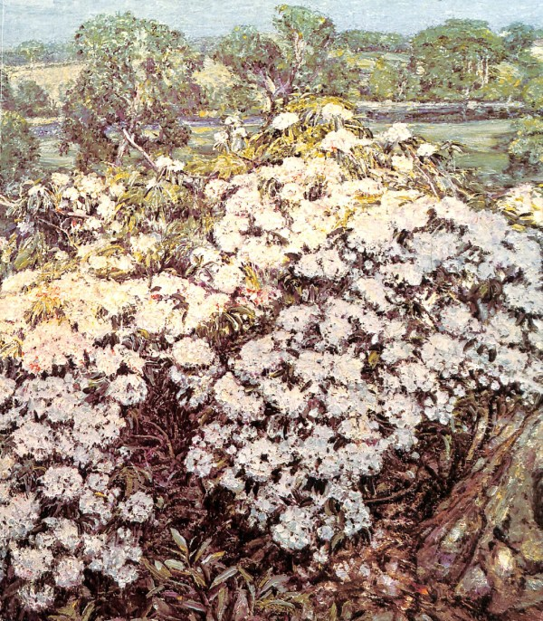 "1980 William Benton Museum of Art, University of Connecticut, Storrs, CT, ""Connecticut and American Impressionism: A concurrent exhibition in three locations"", March 17 – May 30"