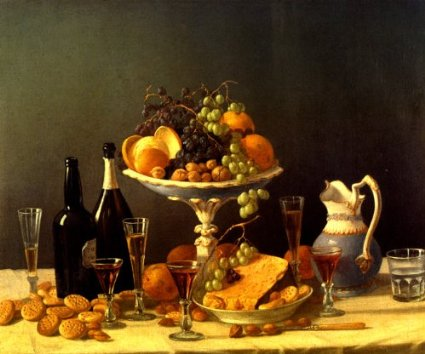Fig. 14  John F. Francis, Still Life, Grapes in Dish, c.1850, oil on canvas, 25 x 30-1/4 in. (63.5 x 76.8 cm), The Newark Museum, Purchase 1956, Anonymous Gift Fund