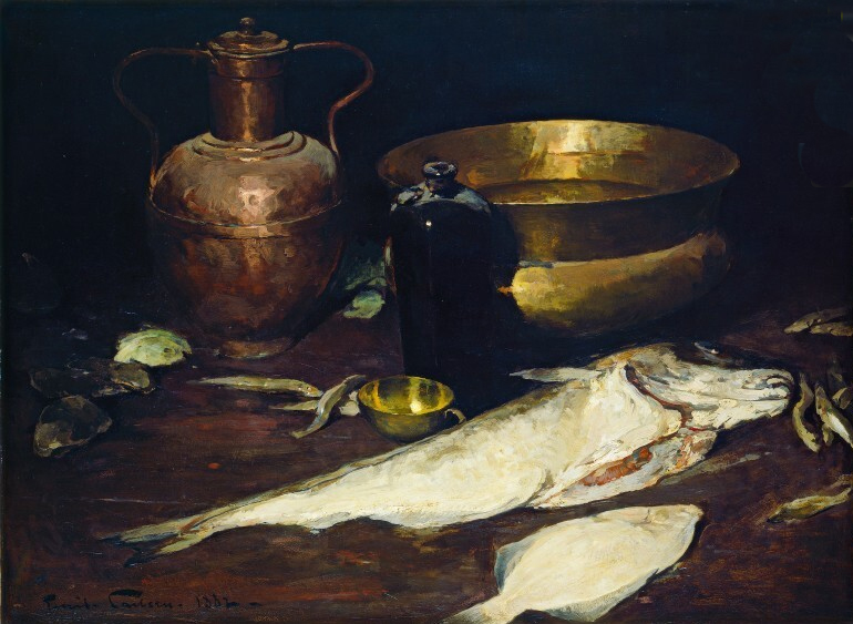 Fig. 6.  Still Life with Fish, 1882, 29 5/8 x 39 3/4 in. (75.3 x 101 cm), Chester Dale Collection, National Gallery of Art, Washington, DC