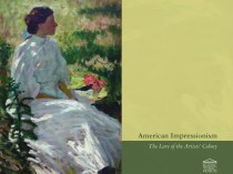 American Impressionism: The Lure of the Artists' Colony
