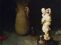 Emil Carlsen : Oriental still life, 1901.