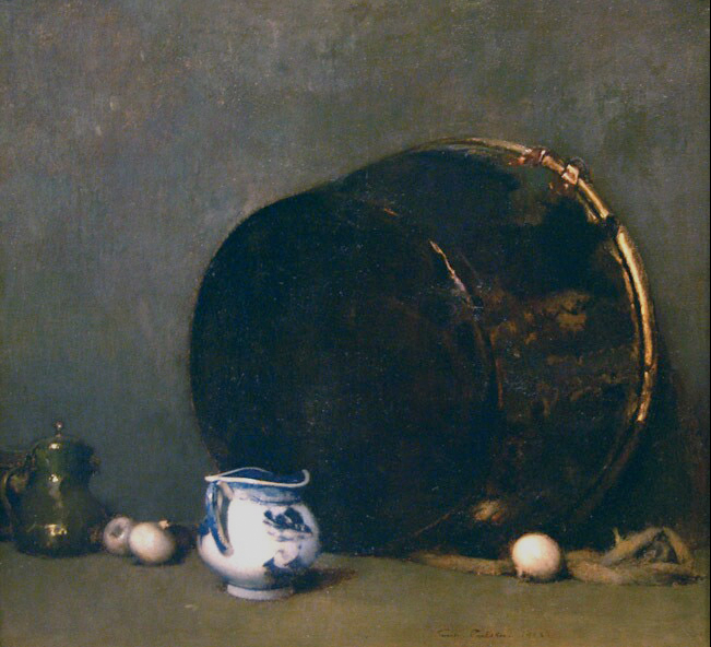 Emil Carlsen The Sooty Kettle, 1902