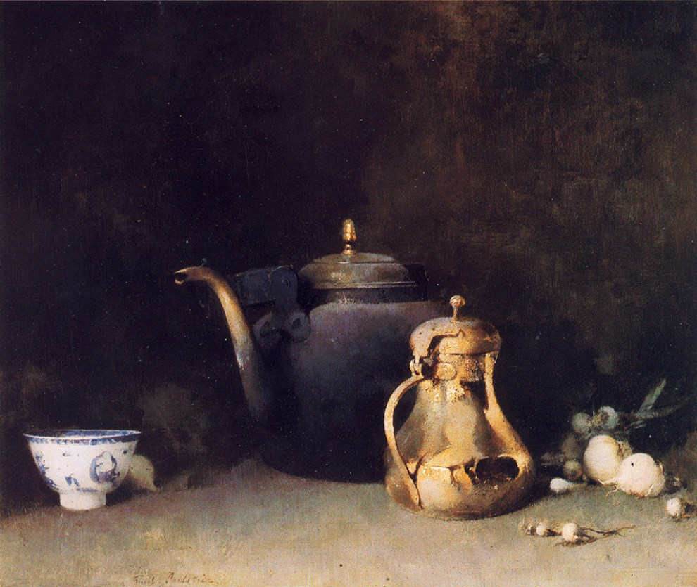 Emil Carlsen : The brass teapot, ca.1903.