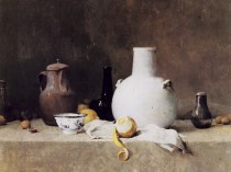 Emil Carlsen Still Life with Pottery Jars 1903