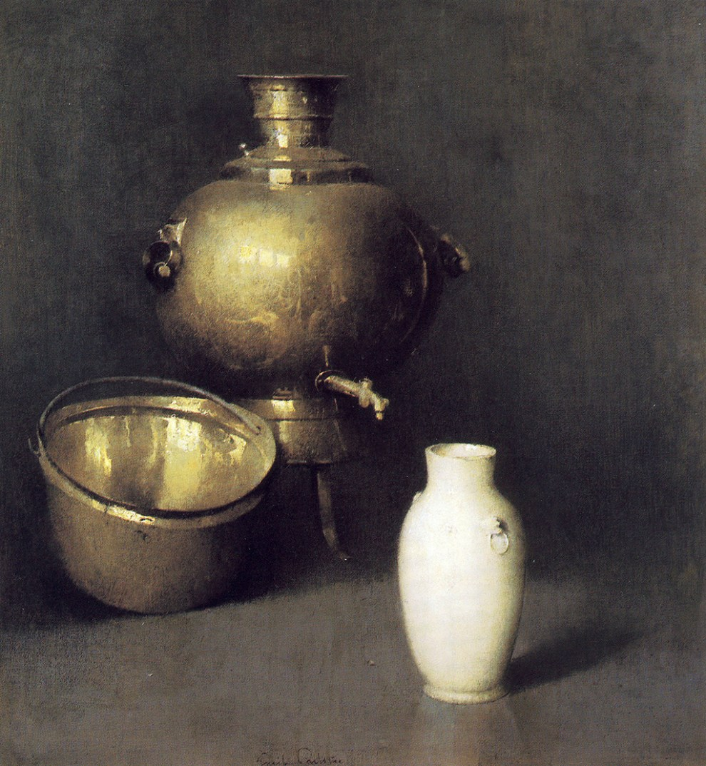 Emil Carlsen The Samovar ca.1921