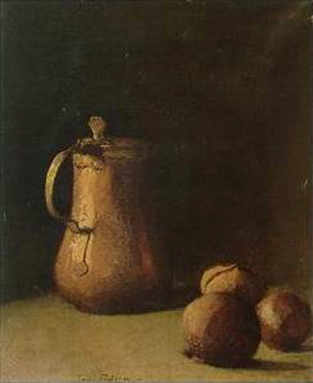Emil Carlsen Still Life With Copper Pot (also known as Still Life), c.1893