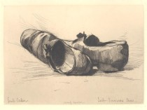Emil Carlsen Last Summers Shoes Etching, 1879