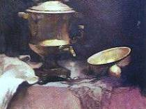 Emil Carlsen Still Life with Samovar, c.1888