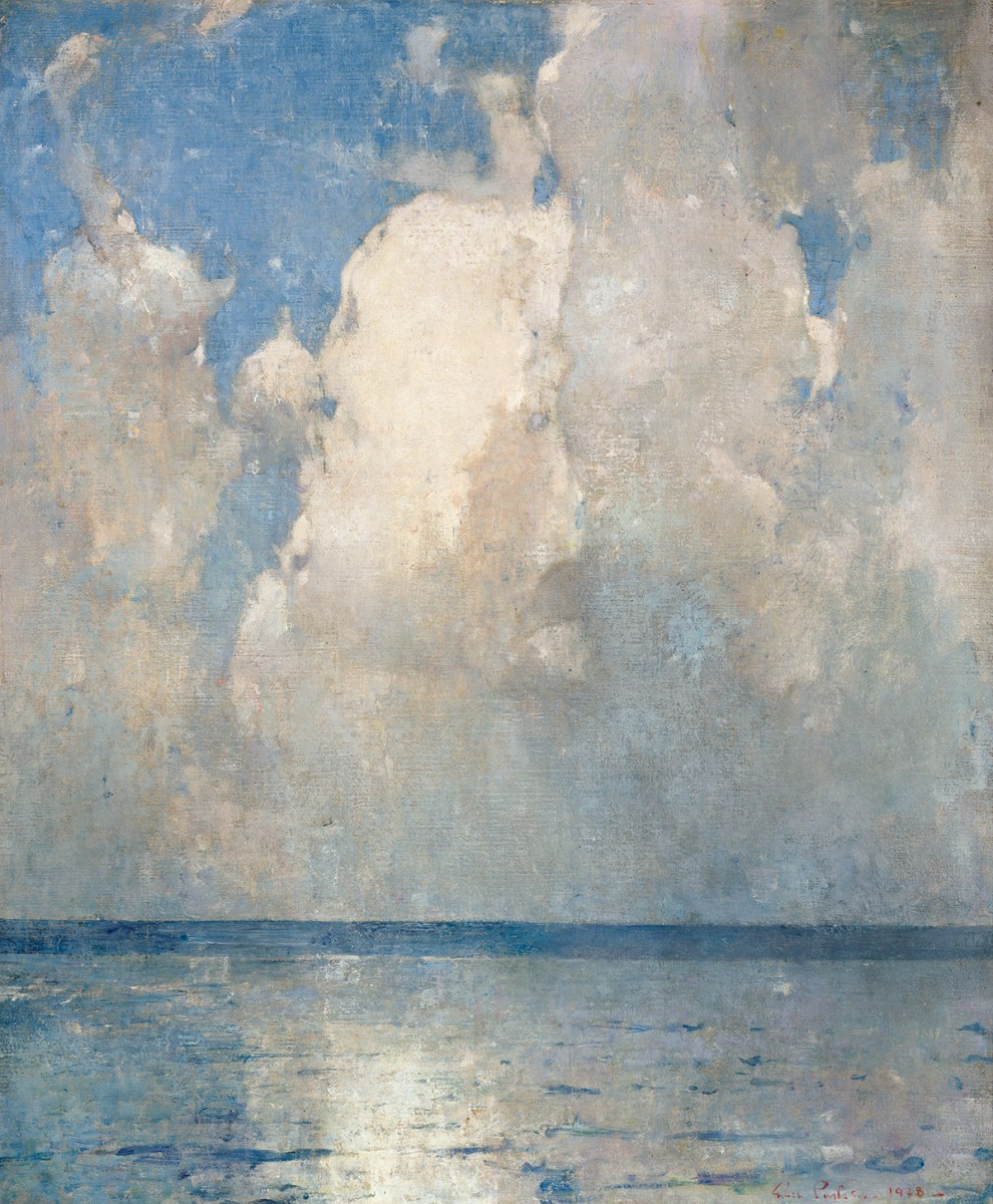 Emil Carlsen : Swell and clouds, 1928.