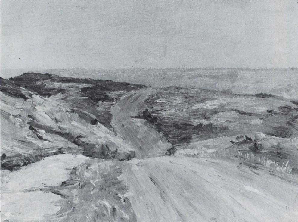 Emil Carlsen Beach Road, ca.1909