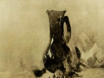 Emil Carlsen Black Vase and Roses, ca.1884