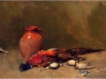 Emil Carlsen Still Life with Pheasant 1892