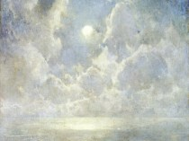Emil Carlsen Moonlight on the Kattegat, 1910