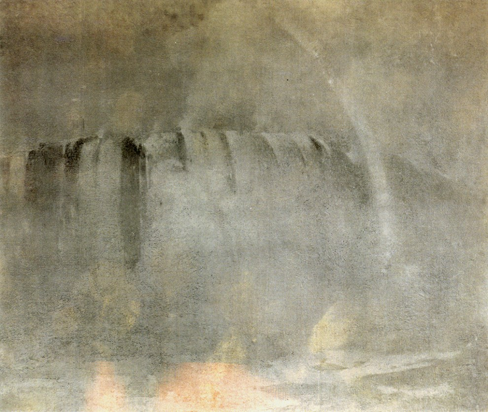 Mist and Rainbow (also called Niagara Falls with Rainbow) c.1912