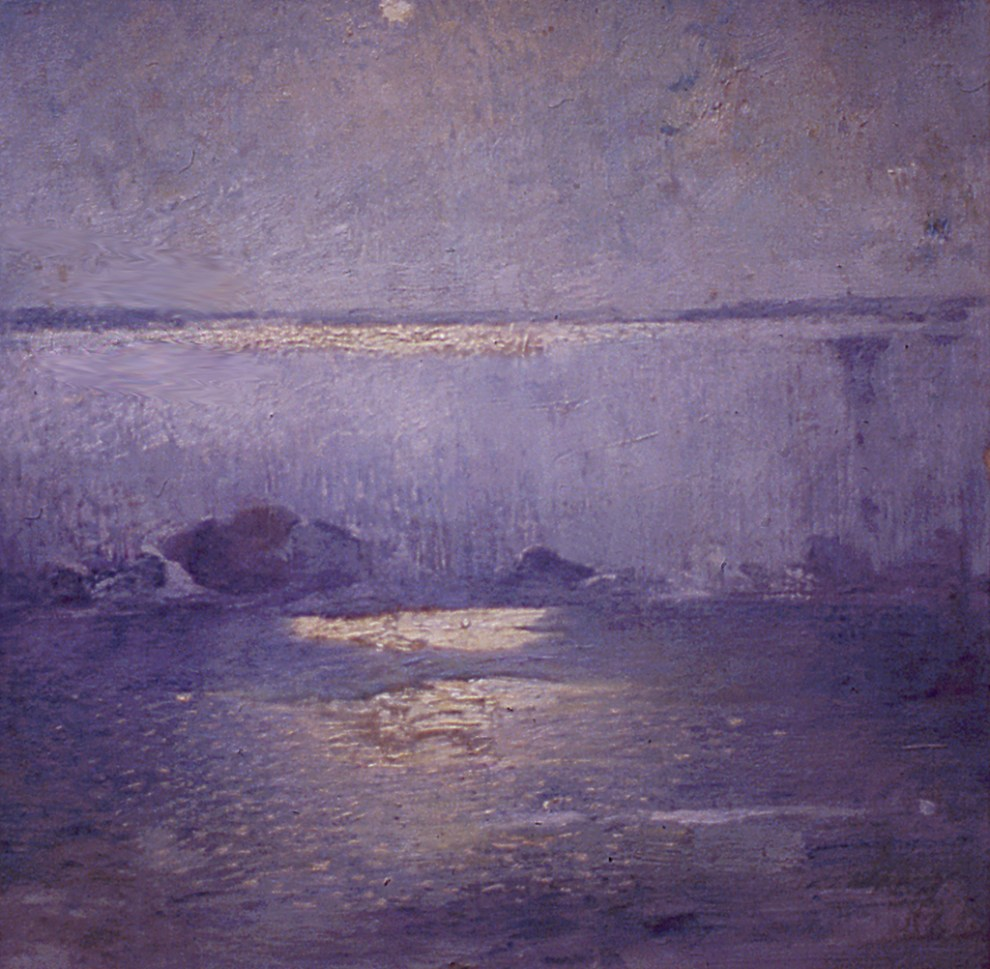Emil Carlsen Moonlight on Niagara, c.1912