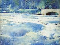 Emil Carlsen Above Niagara Falls 1912