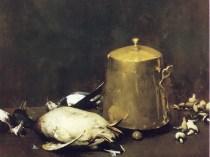 Emil Carlsen : Still life with ducks, ca.1883.