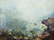 Emil Carlsen Under the Sea, c.1913