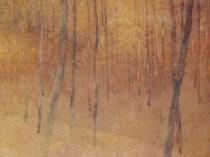 Emil Carlsen Pink Landscape (also called Wood Interior), c.1918