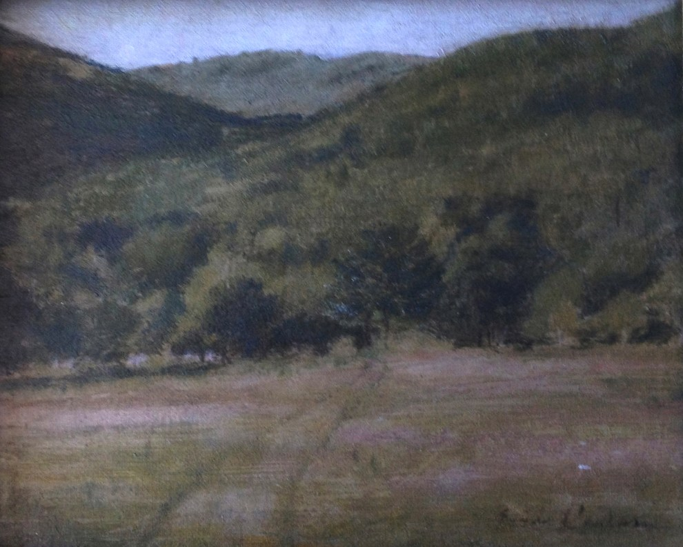 Emil Carlsen Connecticut Hills (also called Hillside), c.1907