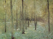 Emil Carlsen Filtering Light (Forest), c.1916
