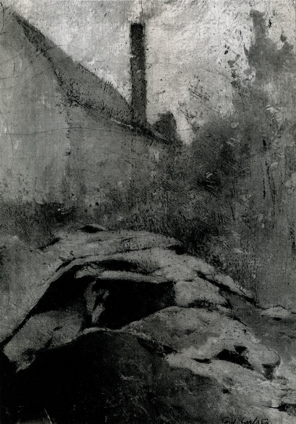Emil Carlsen : Industrial landscape, ca.1920.