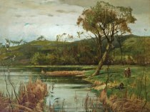 Emil Carlsen The River Bank, 1881